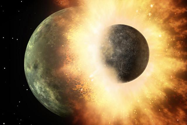 科学家发现地球从月球那儿偷走了挥发物