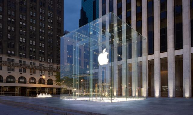 苹果第五大道旗舰店玻璃立方获专利