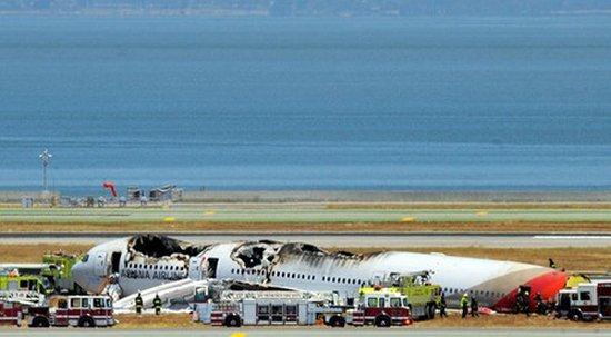 美国当局如何调查韩亚航空客机坠毁事故