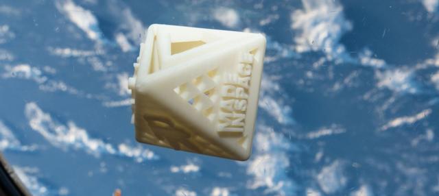 第一个私人3D打印物体进入地球轨道