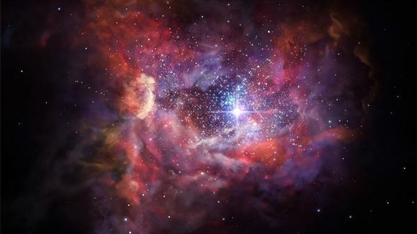 大爆炸6亿年后行星形成气体和尘埃被发现