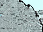 科学家称世界最大峡谷隐藏在南极洲冰原之下