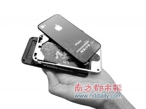 男子贪便宜光棍节买到空壳iPhone4