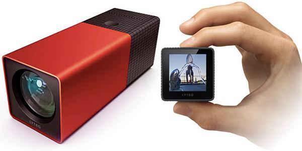 初代Lytro光场相机采用柱形外观,一端是镜头,一端是屏幕