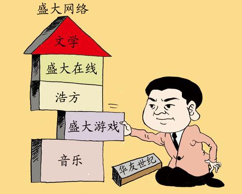 在陈天桥的娱乐帝国梦中,一直谋划各业务单独上市