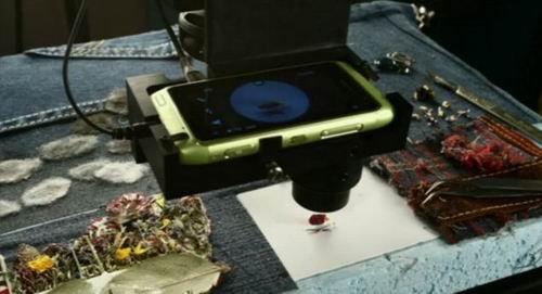 诺基亚N8拍摄世界最小电影 主人公仅9毫米大