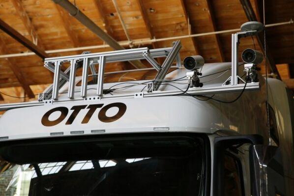 Uber拟收购无人驾驶卡车初创公司Otto