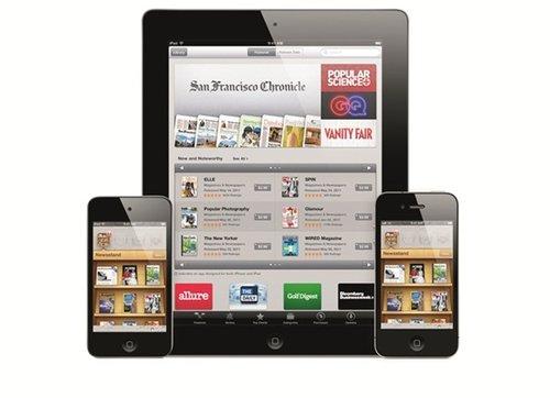 苹果公司旗下Newsstand喜忧参半