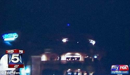 居民拍到疑似UFO的不明物体