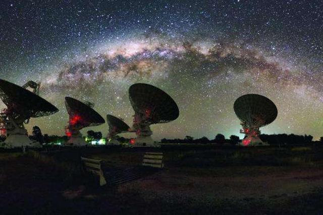 """澳科学家观测到银河系内隐藏的""""黑暗面条"""""""