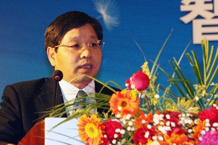 图文:TCL家电产业集团副总裁李书彬讲话