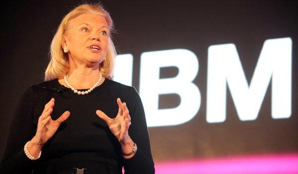 IBM CEO罗睿兰:只能豪赌新市场