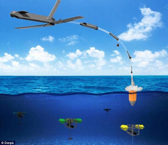 美国国防部研发水下隐藏的无人机 欲改变海战格局