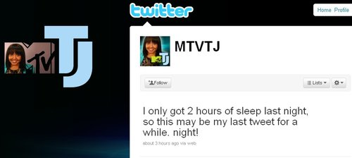 "MTV推出""Twitter主持人"":TJ"