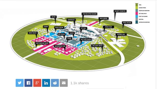 美国拟建造无人城市 测试尖端科技产品