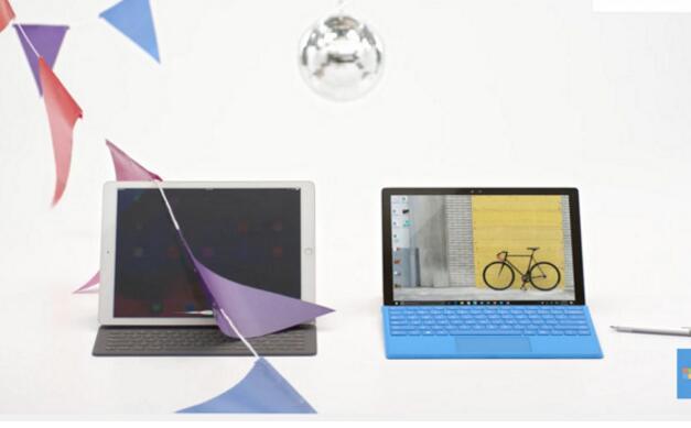 微软讥诮苹果:iPad Pro配个智能键盘就叫电脑了?