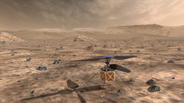 飞比跑容易?美科学家研发火星探测直升机