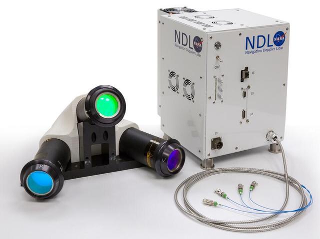 NASA即将测试深空着陆激光雷达