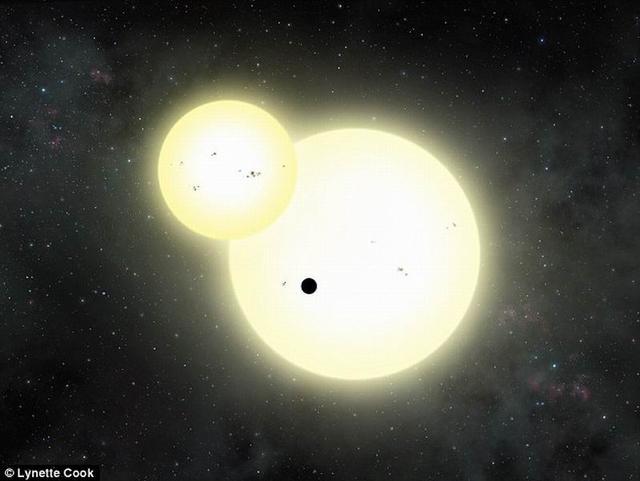 """天文学家发现最大""""塔图因星"""" 质量半径接近木星绕双星旋转"""