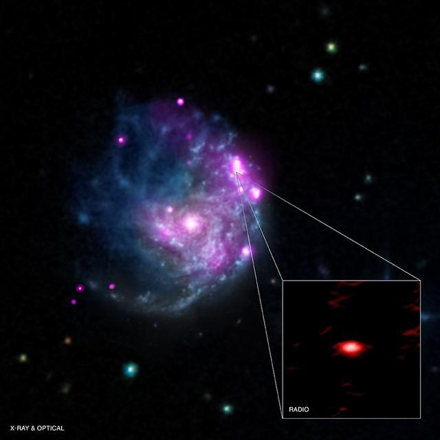 科学家在一亿光年外发现罕见中等质量黑洞