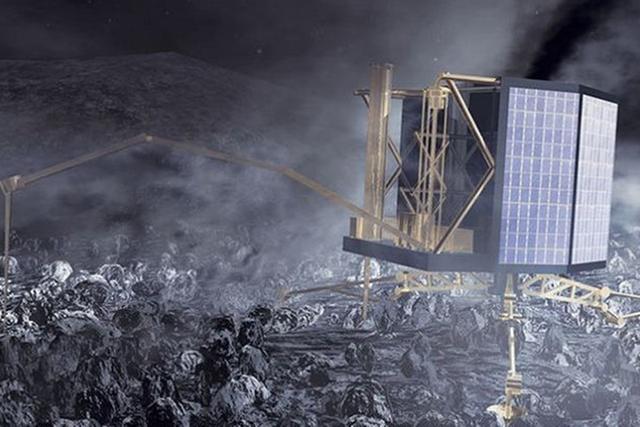 欧洲航天局与菲莱着陆器的联系中断