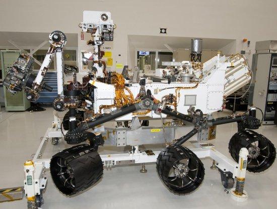 """NASA""""核动力火星车""""将搜索火星生命的痕迹"""