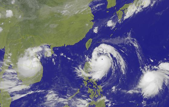 """强台风""""莫兰蒂""""来袭 国家海洋局启动应急响应"""