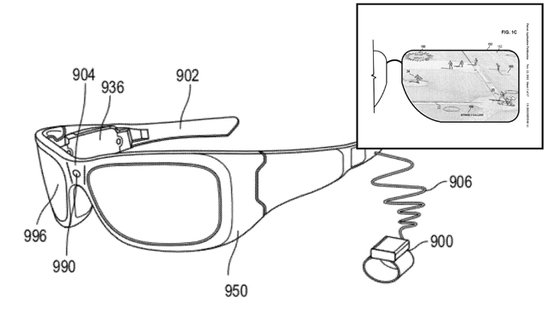 传微软正在开发智能眼镜 与谷歌眼镜类似
