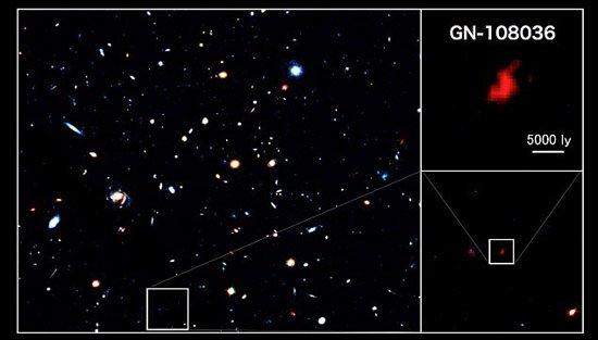 科学家观测到宇宙早期诞生恒星最旺盛星系