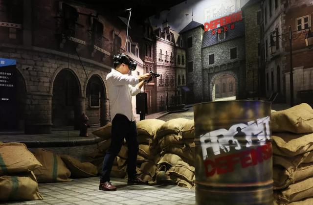 HTC将在中国、美国和欧洲推出VR街机游戏