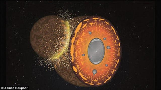 地球形成初期陨星持续碰撞永久改变地球成分