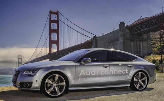 美国加州开始公测无人驾驶汽车