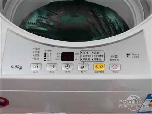 松下爱妻号波轮洗衣机xqb60-q630u操控面板