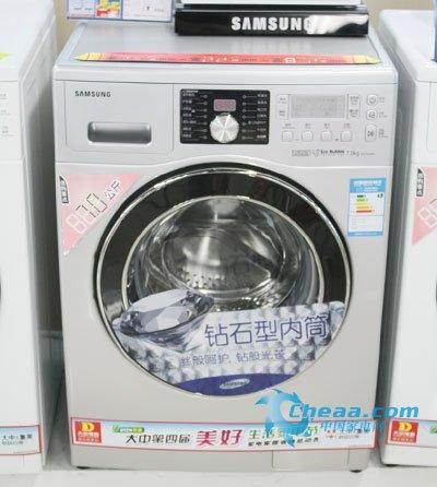 三星7公斤洗衣机热销 泡泡净滚筒更洁净