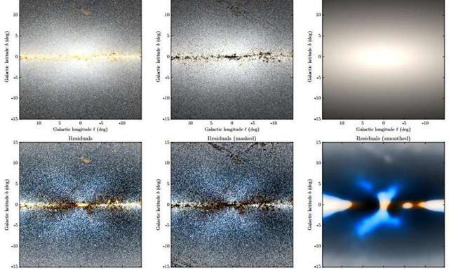 "NASA用外望远镜发现银河系""X型""隆起奥秘"