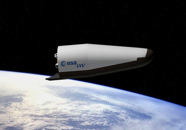 欧空局2月11日测试新型太空飞行器
