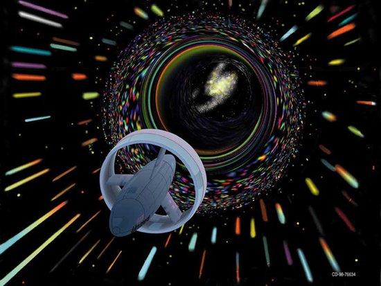 """""""曲速引擎""""可驱动宇宙飞船以10倍光速旅行"""