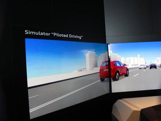 自动驾驶和无人驾驶 CES上的未来汽车高清图片