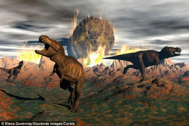 小行星撞地球给了恐龙最后致命一击