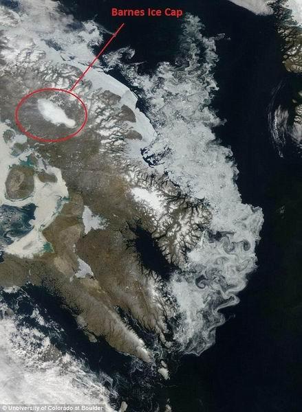 科学家预测称北美洲境内冰盖未来300年内完全消失