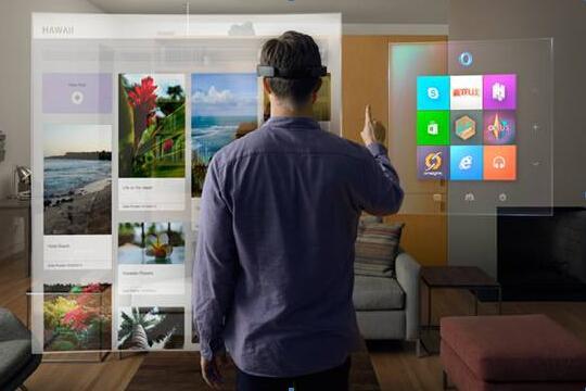 微软HoloLens进场背后:巨头绕过屏幕抢夺视网膜