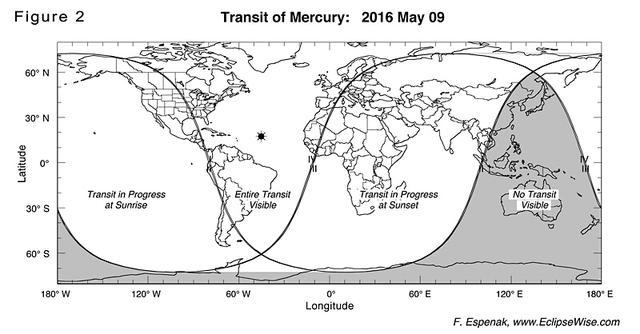 """""""水星凌日""""5月9日来袭 你需要先了解这些知识"""