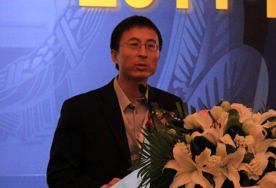 图文:腾讯公司副总裁代表获奖单位发言