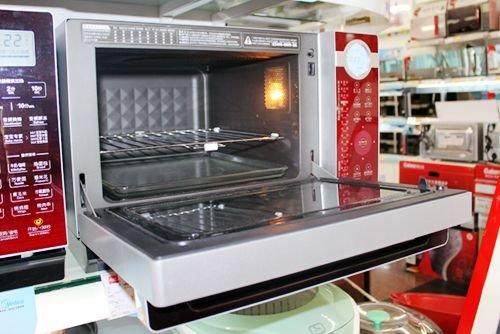 美的变频微波炉TH025LC7-BR持续热销