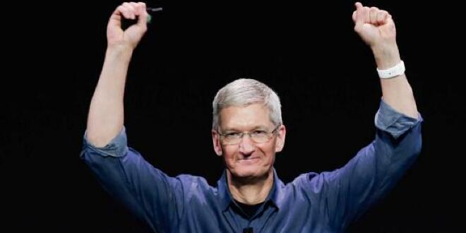 苹果王朝到底有多强大?五张图让你一目了然