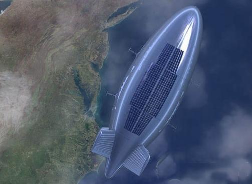 中国新型飞艇成功放飞 可替代亚轨道卫星