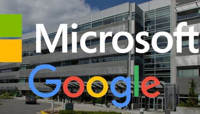 微软和谷歌俩巨头握手言和 同意撤销彼此所有诉讼