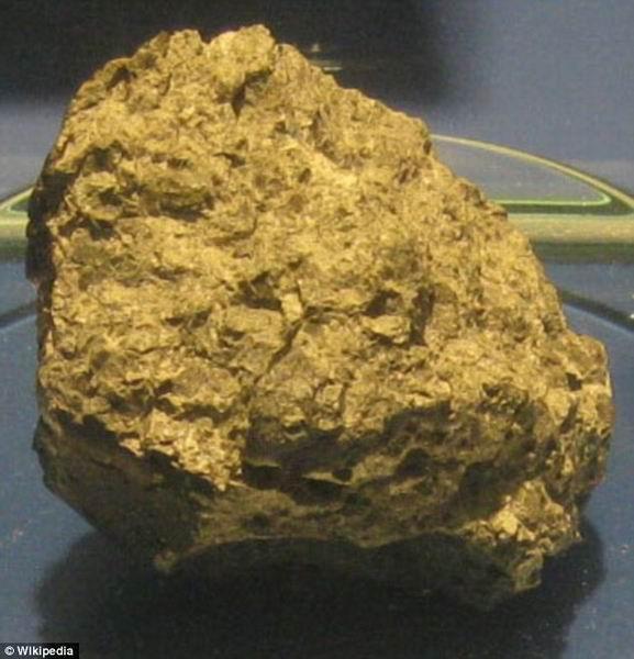"""陨石分析结果显示 火星曾存在""""小海洋"""""""