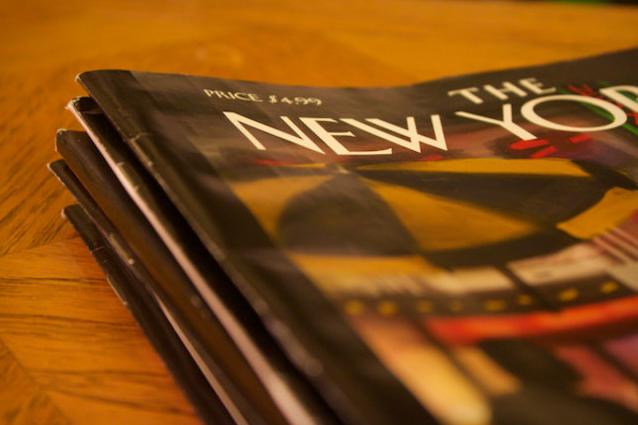 解读《纽约客》新版网站:传统与趋势相互交融