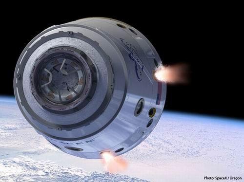 NASA临时启用SpaceX公司太空飞行至空间站